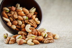 Nuts - Aphrodisiac foods to boost sex drive in seniors
