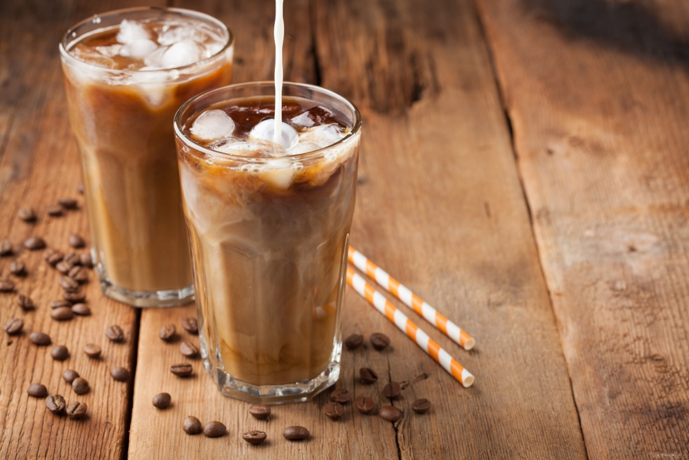 Cold cocoa coffee
