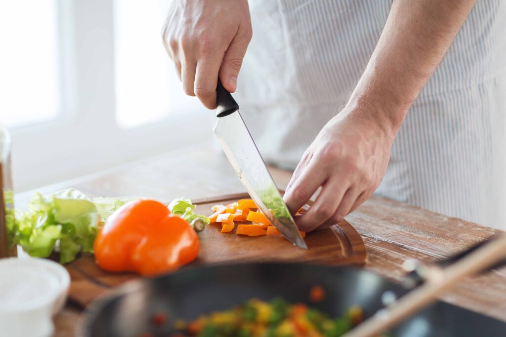 Cooking is a hidden passion that men now find time for