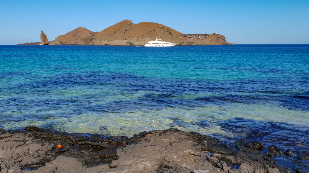 Some views of the islands of Galapagos