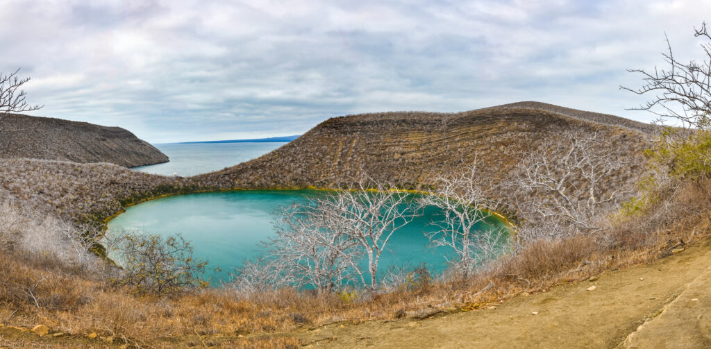 Darwins lake – at Isabela Island