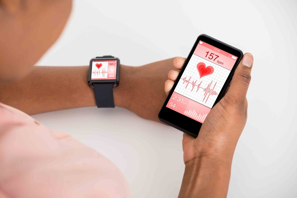 People have already begun to use smart technology to monitor and track their health