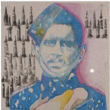 Naick Darwan Sing Negi. Painting by Angeli Sowani