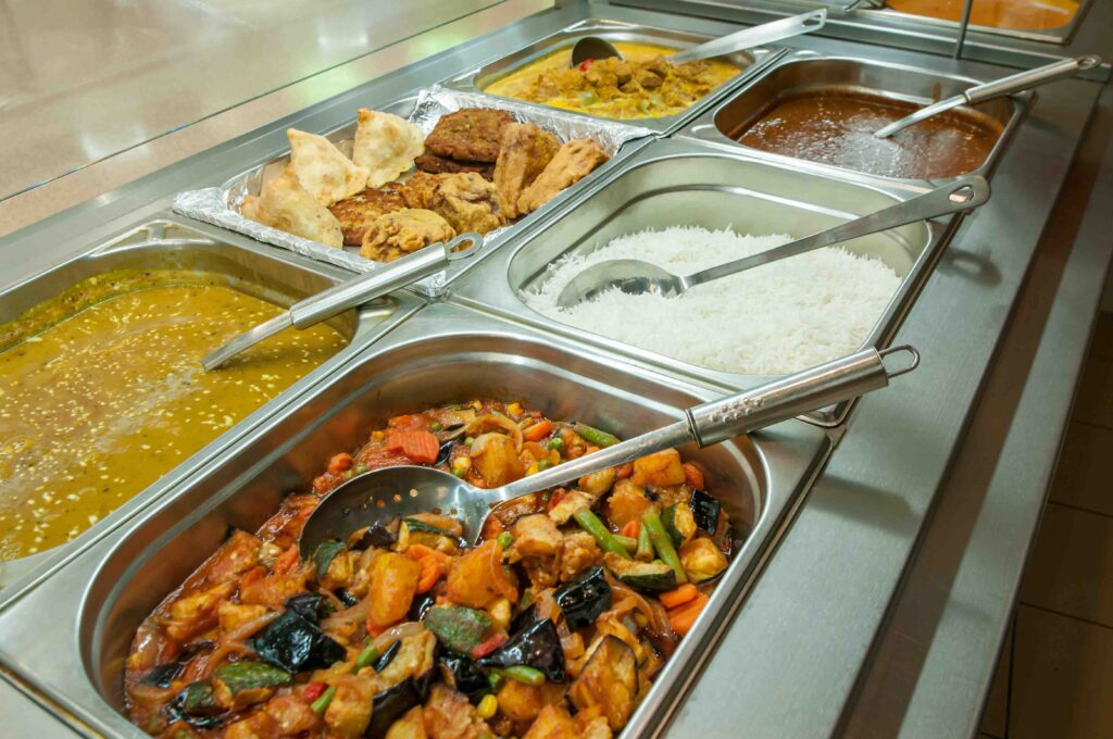 You'll probably find chilli chicken in a buffet selection – it's a Punjabi dish, after all!