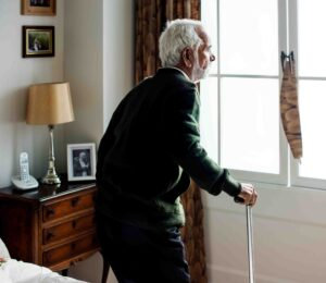 Fear of falling while walking increases as one ages
