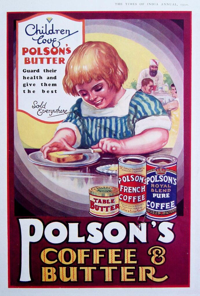 Polsons Coffee and Butter Ad