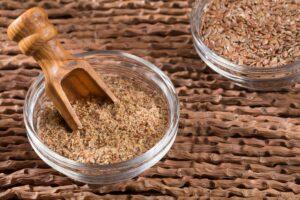 1. Flaxseed or Alsi