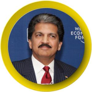 16. Anand Mahindra