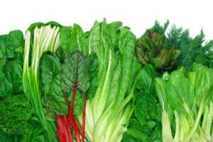 16. Leafy Greens - Spinach, Arugula, Bok Choy etc.