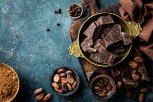 18. Dark chocolate