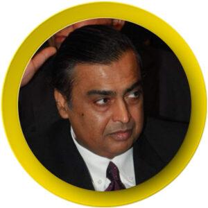 1. Mukesh Ambani