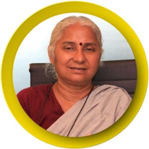 45. Medha Patkar