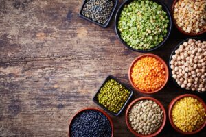 7. Lentils and beans