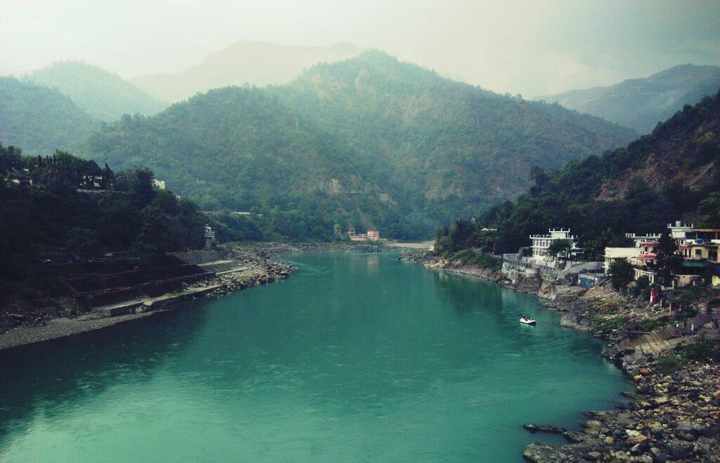 Ganges at Rishikesh from Lakshman Jhula
