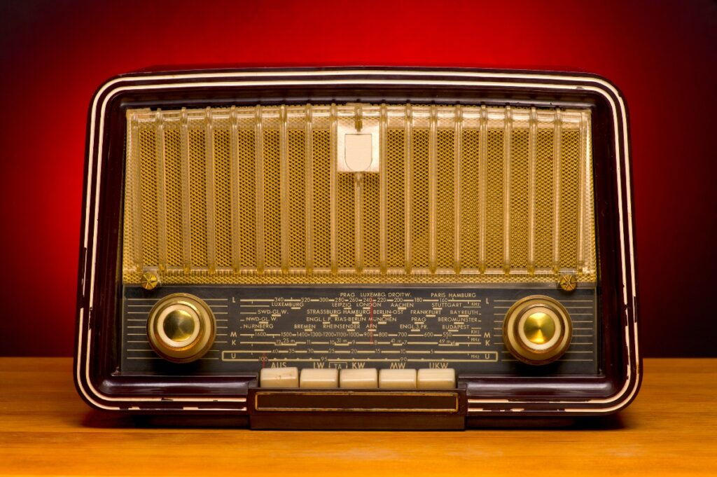 When the radio played song requests, it was a thrilling moment to hear one's name announced