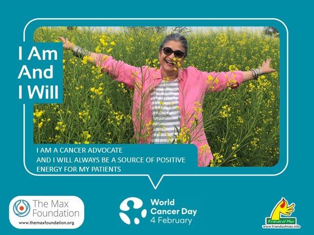Viji Venkatesh on World Cancer Day 2021. I Am And I Will Campaign - Seniors Today