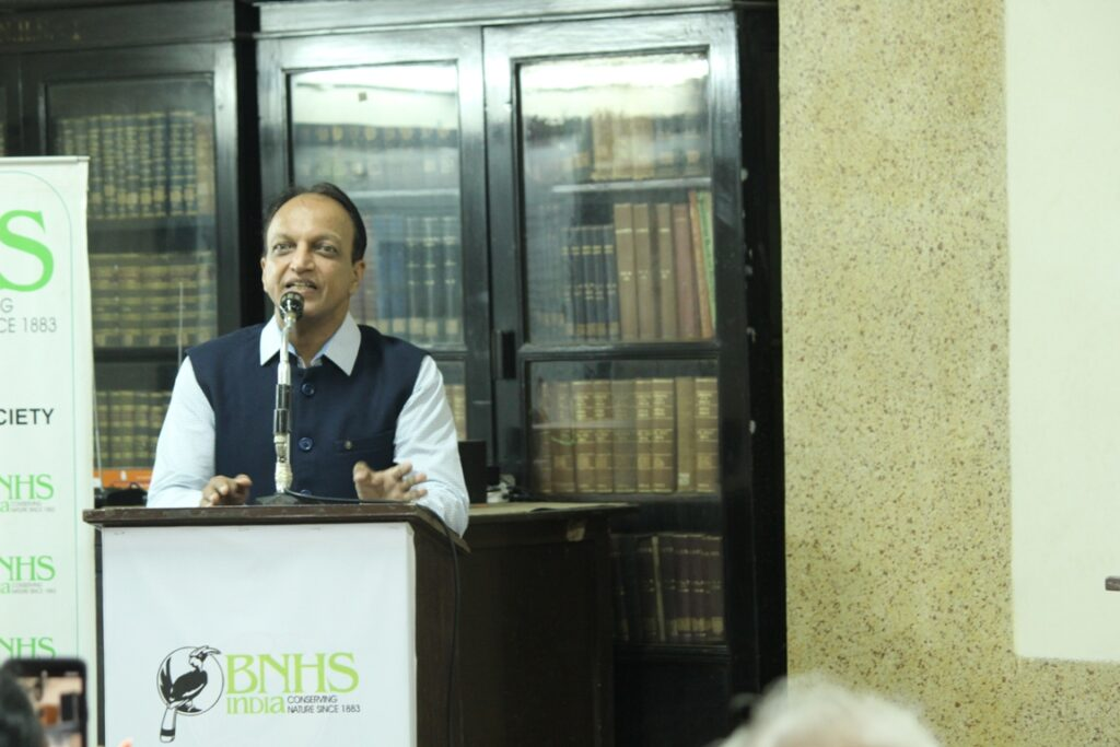 Parvish speaking at BNHS