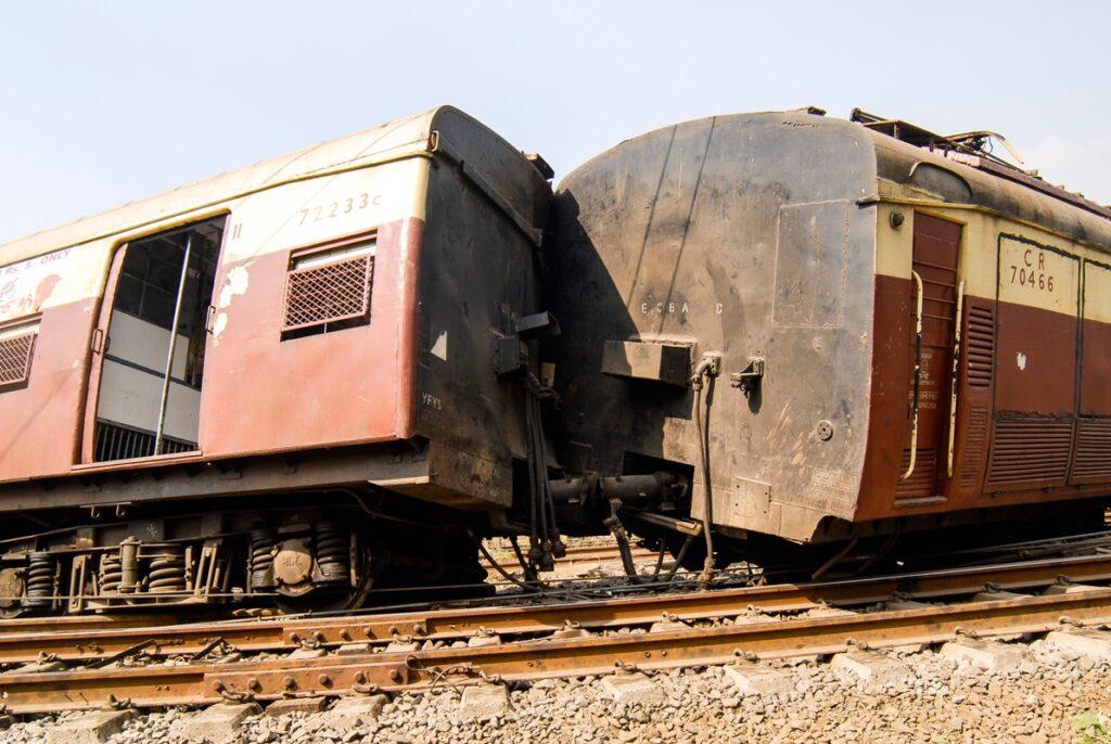 A derailment is a tragic scene (File photo)
