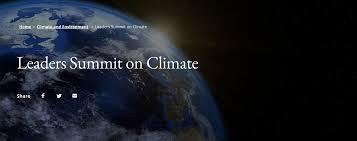 Leaders Summit on Climate