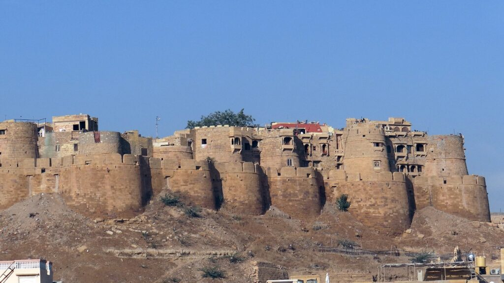 Sandip Ray says he enjoyed the location shoot at the Jaisalmer fort, where Sonar Kella was set
