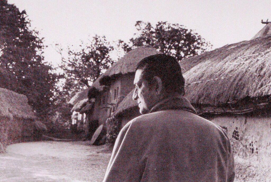 Satyajit Ray photographed by Nemai Ghosh