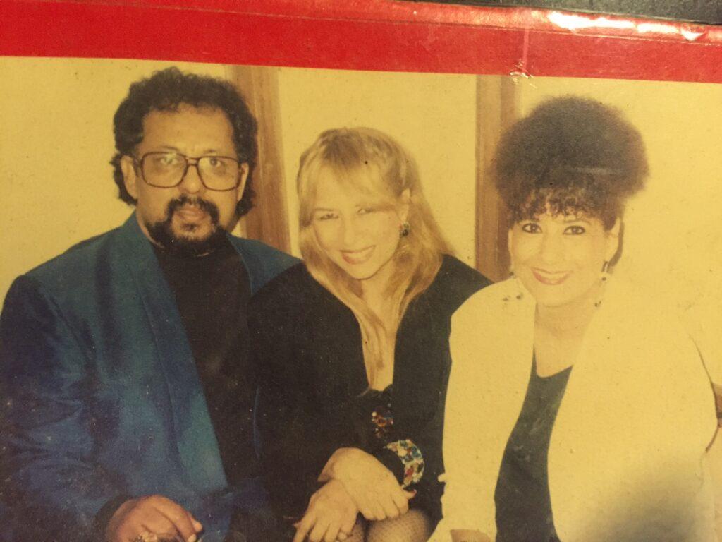 Louiz Banks with Pam Crain and Lorraine Banks