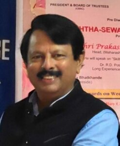 Prakash Narayan Borgaonkar, Head - Maharashtra & Goa, HelpAge India